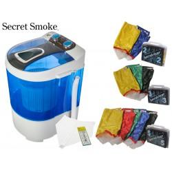 LAVADORA SECRET SMOKER + 5 MALLAS