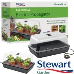 Invernadero Stewart Eléctrico Regulable Grande (52x42x28cm)