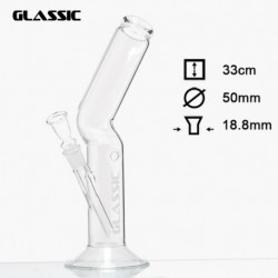 Bong Glassic para Hielo - H:33cm - D:50mm - Socket:18.8mm
