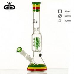 Bong GD Spiral Rasta 36cm
