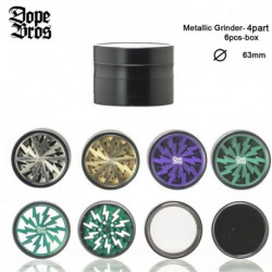 Grinder Dope Bros  lighning - 4part - D:60mm
