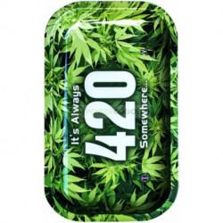 BANDEJA ROLLING METAL- 420 -27X16 CM