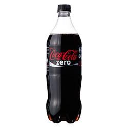 Botella Cocacola cero 1L camuflaje