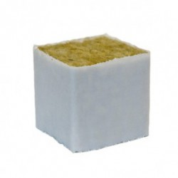 Taco Lana de Roca con Forro 5x5x5cm