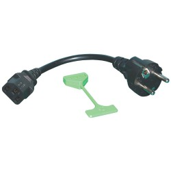Kit Transformador LUMii HID a CFL (pestaña verde y Enchufe EU con cable corto)