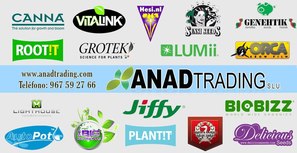 Anad Trading - Distribuidora para Grow Shops y Asociaciones Cannabicas
